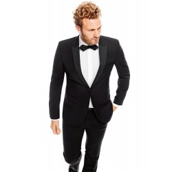 CG Smoking Slim-Fit schwarz